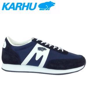 レディーススニーカー KARHU(カルフ) メンズスニーカー 靴 アルバトロス ディープネイビー/ホワイト kh802501|t-time