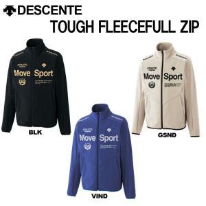 DESCENTE(デサント)Move Sport タフフリース フルジップシャツ dat-2467 t-time