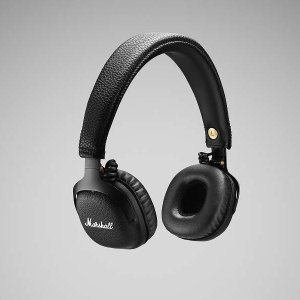 Marshall(マーシャル) MID Bluetooth Black(ZMH-0491742)aptX Bluetoothワイヤレスヘッドホン|t-tokyoroppongi