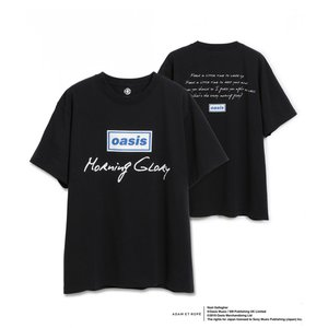 OASIS for ADAM ET ROPE'  SONG LYRICS T-SHIRT オアシスTシャツ 半袖 『Morning Glory』|t-tokyoroppongi