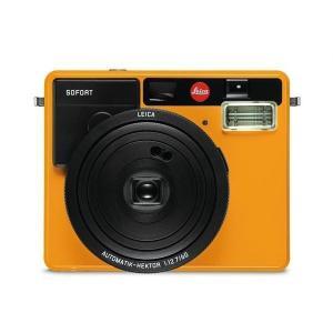 【ポイント10倍!】【ライカ純正フィルムおまけ付】インスタントカメラ Leica sofort (ライカ ゾフォート)オレンジ・ホワイト|t-tokyoroppongi