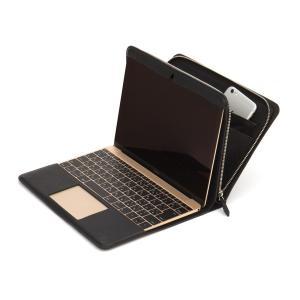 CAVALIERI Potare Macbook 12inch Cover  カヴァリエリ ポタレ マックブック12インチ カバー  【Black】【Light Brown】|t-tokyoroppongi