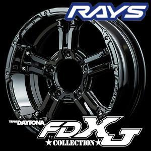 RAYS TEAM DAYTONA  FDX-J collection 16inch 5.5J PC...