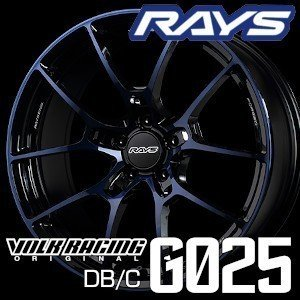 RAYS VOLK RACING G025 DB/C 20inch 9.5J PCD:120 穴数:5H カラー: LD レイズ ボルクレーシング Import car (輸入車用)