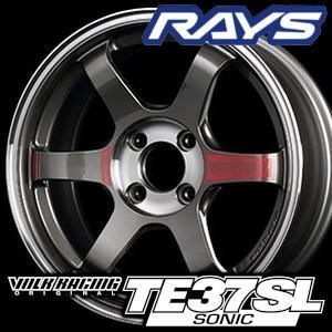 RAYS VOLK RACING TE37 SONIC SL 15inch 5.0J PCD:100 穴数:4H カラー: PG レイズ ボルクレーシング