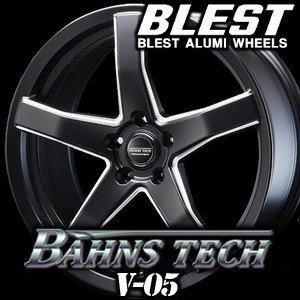 Bahns Tech V-05  力強い5本スポークとワイルドなマットブラックが印象的な『バーンズテ...