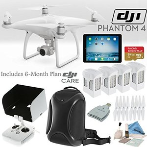 DJI ファントム 4 Quadcopter w/ Everything You Need バンドル...
