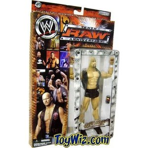 WWE Raw Steve オースティン Tenth アニバーサリー Figure [海外取寄せ品]...