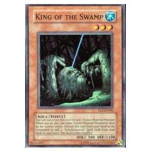 遊戯王 Yu-Gi-Oh! - キング of the Swamp (HL1-EN006) - Hobby リーグ Season 1 - Promo Edition - Super Rare[海外取寄せ品]