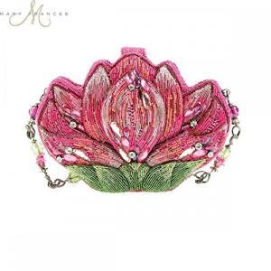メアリー フランス ロータス Lotus Blossom ハンドバッグ Handbag(海外取寄せ品)|t2mart