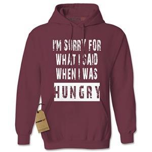 パーカー I'm Sorry For What I Said When I Was Hungry ア...