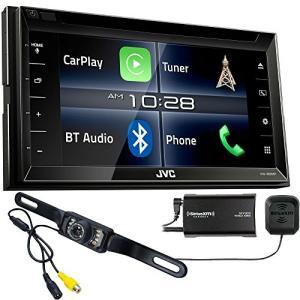JVC KW-V820BT Apple CarPlay レシーバ with Sirius XM Tuner & バック Up Cam(海外取寄せ品)|t2mart