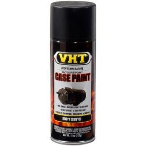 VHT SP903 サテン ブラック エンジン ケース ペイント Can - 11 oz. by VHT(海外取寄せ品)|t2mart