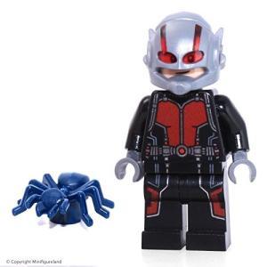レゴ マーベル スーパーヒーロー Ant マン Loose Minifigure スコット Lang...