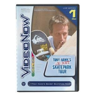 VideoNow カラー XP: トニー Hawk's Secret Skatepark ツアー 海...