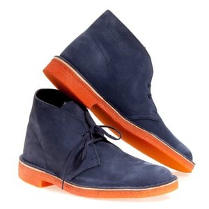 クラーク メンズ オリジナル デザート Ankle ブーツ,ネイビー,10.5 M US海外取寄せ品|t2mart