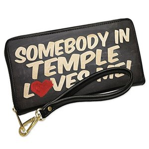 ウォレット Clutch Somebody in Temple ラブ me, テキサス with リ...