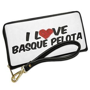 ウォレット Clutch I ラブ Basque Pelota with リムーバブル Wristl...