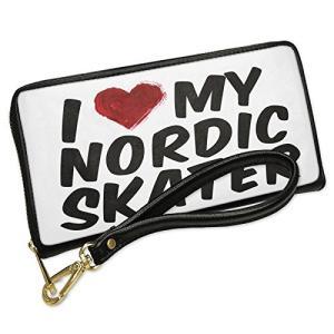 ウォレット Clutch I ハート ラブ my ノルディック Skater with リムーバブル...