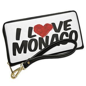 ウォレット Clutch I ラブ Monaco with リムーバブル Wristlet ストラッ...