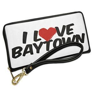 ウォレット Clutch I ラブ Baytown with リムーバブル Wristlet ストラ...