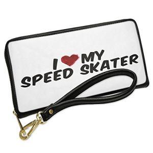 ウォレット Clutch I ハート ラブ my スピード Skater with リムーバブル W...
