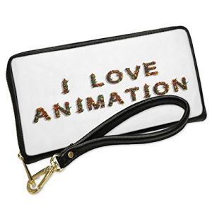 ウォレット Clutch I ラブ Animation モダン 3d デザイン Letters wi...