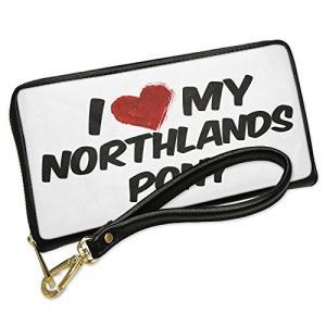 ウォレット Clutch I ラブ my Northlands Pony, ホース with リムー...