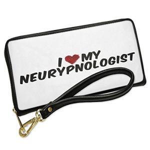 ウォレット Clutch I ハート ラブ my Neurypnologist with リムーバブ...