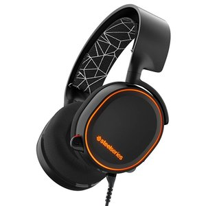 SteelSeries Arctis 5 RGB イルミネーション Gaming Wired ヘッド...