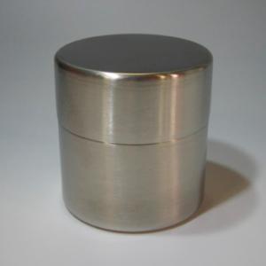茶道具/茶漉し 抹茶篩缶(抹茶ふるい缶) ステンレス(小)