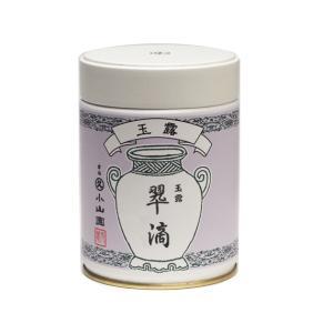 こちらの商品は取寄品となります。  丸久小山園 宇治銘茶 玉露 翠滴 40g缶  ※星印は味・風味を...