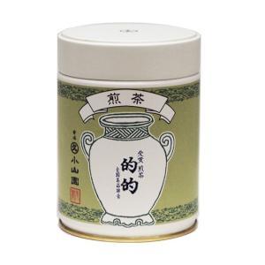 こちらの商品は取寄品となります。  丸久小山園 宇治銘茶 煎茶 的的 100g缶  ※星印は味・風味...