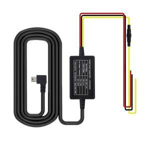 ドライブレコーダー用 miniUSB電源直結コード 降圧ライン 4.5m 電源ケーブル 24時間駐車...