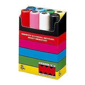 三菱鉛筆 ユニポスカ極太 8色セットの関連商品10