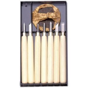 義春刃物 マルイチ彫刻刀 R-7 プラケース7本組 (メール便・送料込み・送料無料・代引き不可・日時指定不可)|tabaki2