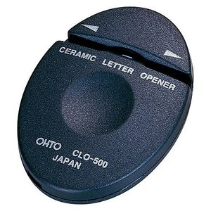 オート セラミックレターオープナーL&R CLO-500 (メール便・送料込み・送料無料・代引き不可・日時指定不可)|tabaki2
