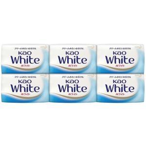 花王 花王ホワイト6個箱入 包装紙柄箱 232007  (メール便・送料込み・送料無料・代引き不可・日時指定不可)|tabaki2