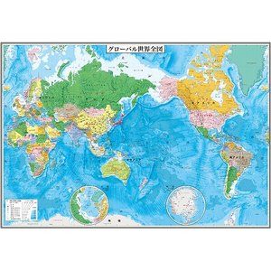 グローバルプランニング PP貼グローバル世界行政 3枚組