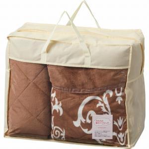 ●材質:毛布:(側地)ポリエステル100%、(詰めもの)ポリエステル100%(0.3kg)、敷パット...