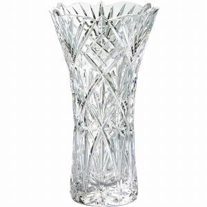 グラスワークスナルミ フローラ 25cm花瓶 GW8000-69250 (-C9056-576-) | 内祝い ギフト お祝|tabaki2