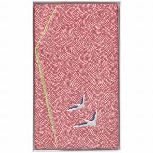 刺繍入り金封ふくさ 赤鶴 H033A (-C1078-014-) | 内祝い ギフト 出産内祝い 引き出物 結婚内祝い 快気祝い お返し 志|tabaki2