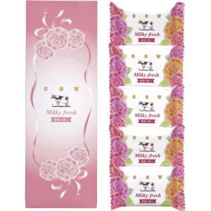 牛乳石鹸 ミルキィフレッシュセット MF-5 (-C1285-016-) | 内祝い ギフト 出産内祝い 引き出物 結婚内祝い 快気祝い お返し 志|tabaki2