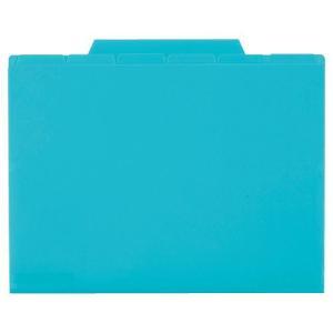 セキセイ アクティフ 6インデックスフォルダー A5 ブルー ACT-506-10 (×5冊セット) (t2)|tabaki2
