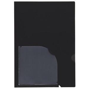 セキセイ アクティフ 5インデックスフォルダー A4 ブラック ACT-902-60 (×5冊セット) (t2)|tabaki2