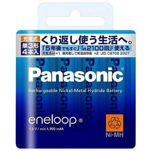 Panasonic エネループ単34本入BK-...の関連商品1