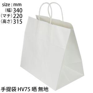 手提げ袋 ギフトバッグ 白無地 HV75晒無地|tabaki3