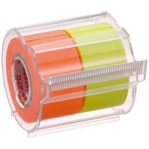 ヤマト メモックロールテープ 蛍光 NORK-25CH6C tabaki3