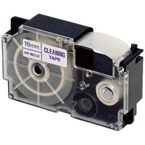 カシオ計算機 クリーニングテープ XR-18CLE 18mm