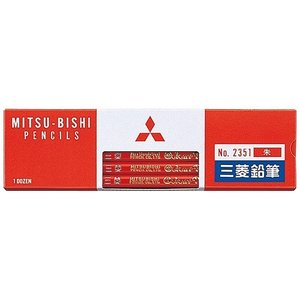 三菱鉛筆 色鉛筆 K2351 朱通し 12本入 ...の商品画像